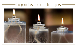 liquid wax cartridges / olievullingen